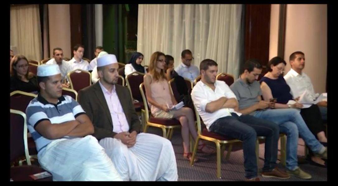 Conférence de presse sur l'audience
